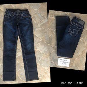 Silver Suki Straight Jeans